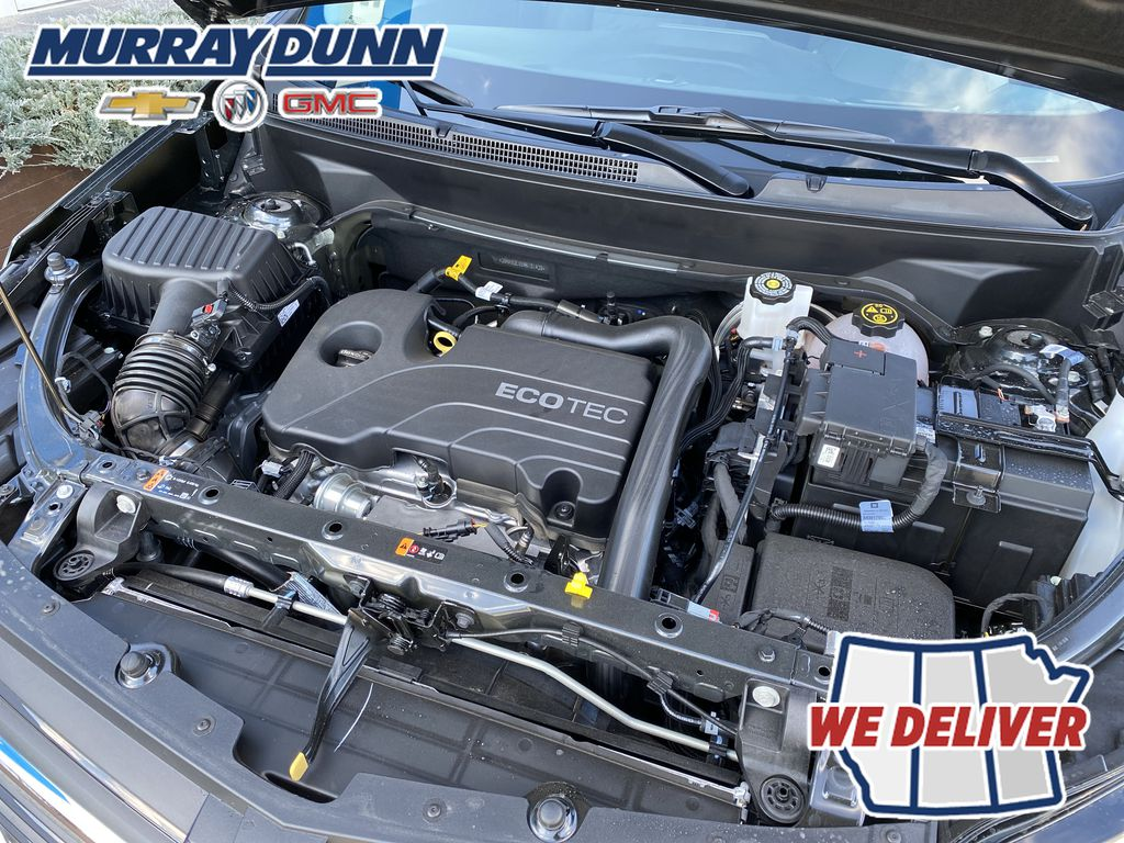 Nightfall Grey Met 2021 Chevrolet Equinox LT Engine Compartment Photo in Nipawin SK