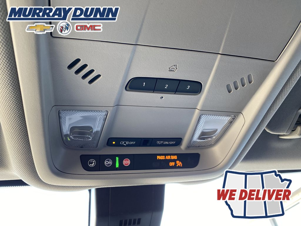 Nightfall Grey Met 2021 Chevrolet Equinox LT Roof Mounted Controls Photo in Nipawin SK