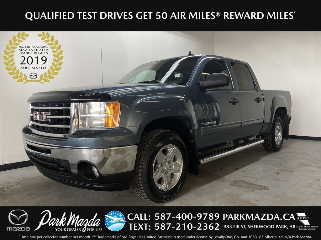 BLUE/GREY 2013 GMC Sierra 1500 SLE - Bluetooth, Air Conditioning, Driver Lumbar Support
