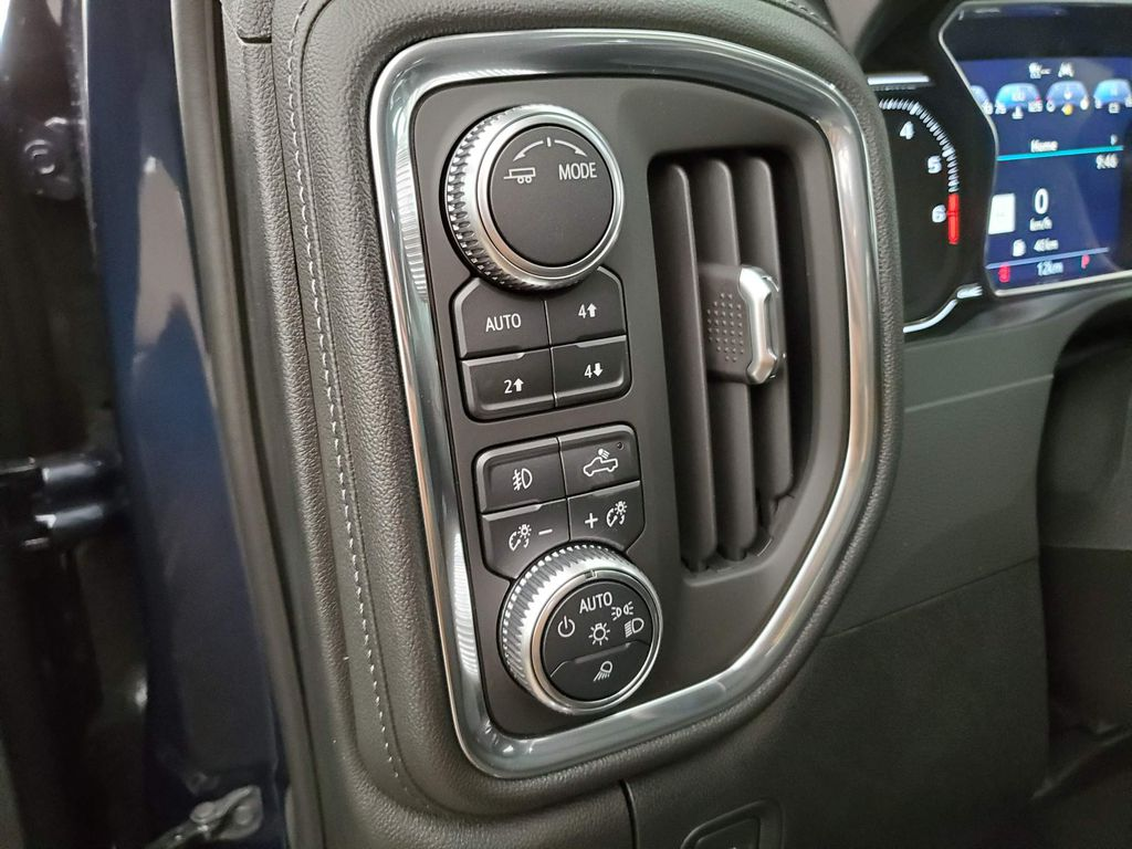 Blue 2020 GMC Sierra 1500 Front Vehicle Photo in Airdrie AB