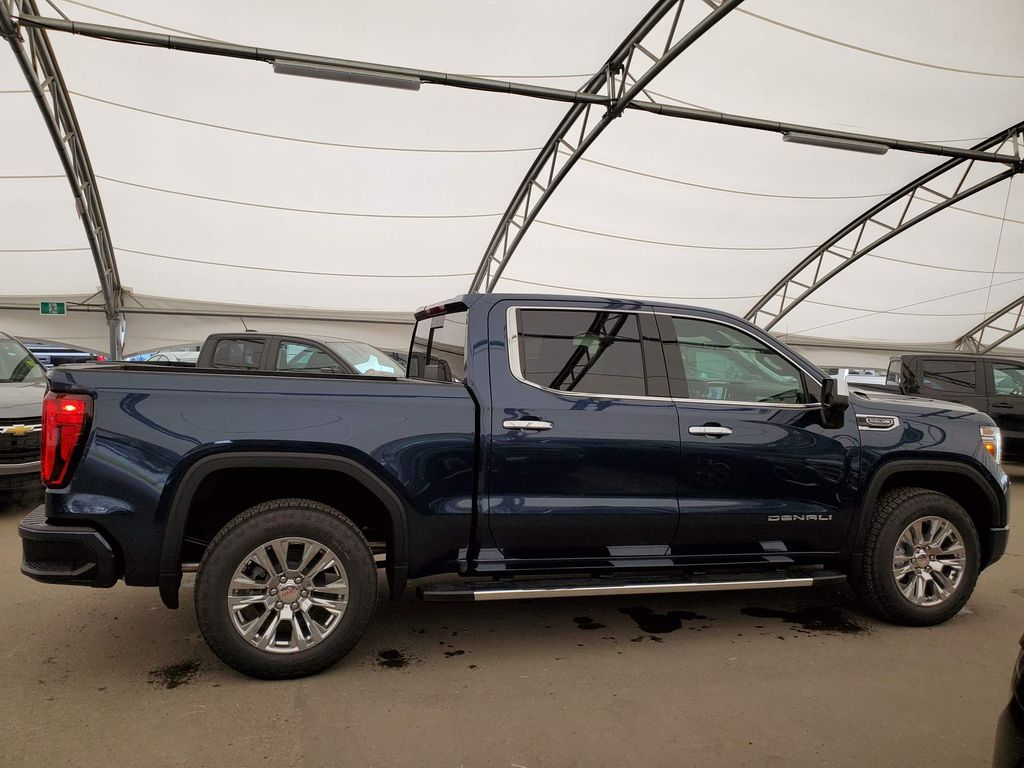 Blue 2020 GMC Sierra 1500 Right Front Interior Door Panel Photo in Airdrie AB