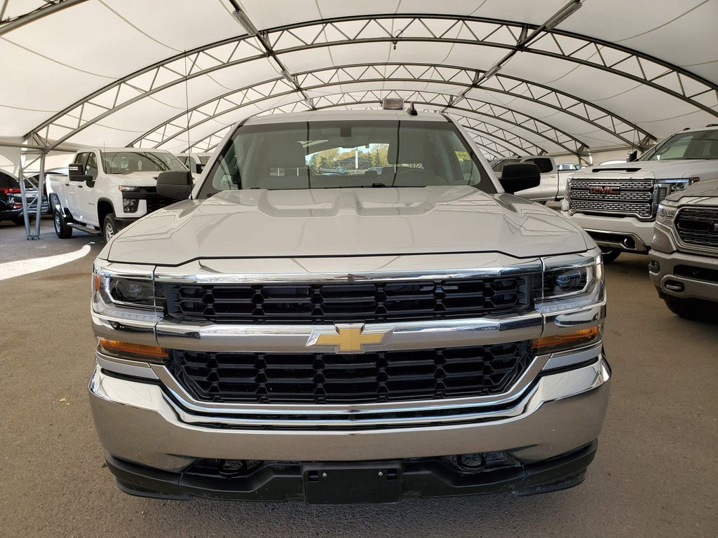 Silver 2018 Chevrolet Silverado 1500 Left Front Corner Photo in Airdrie AB