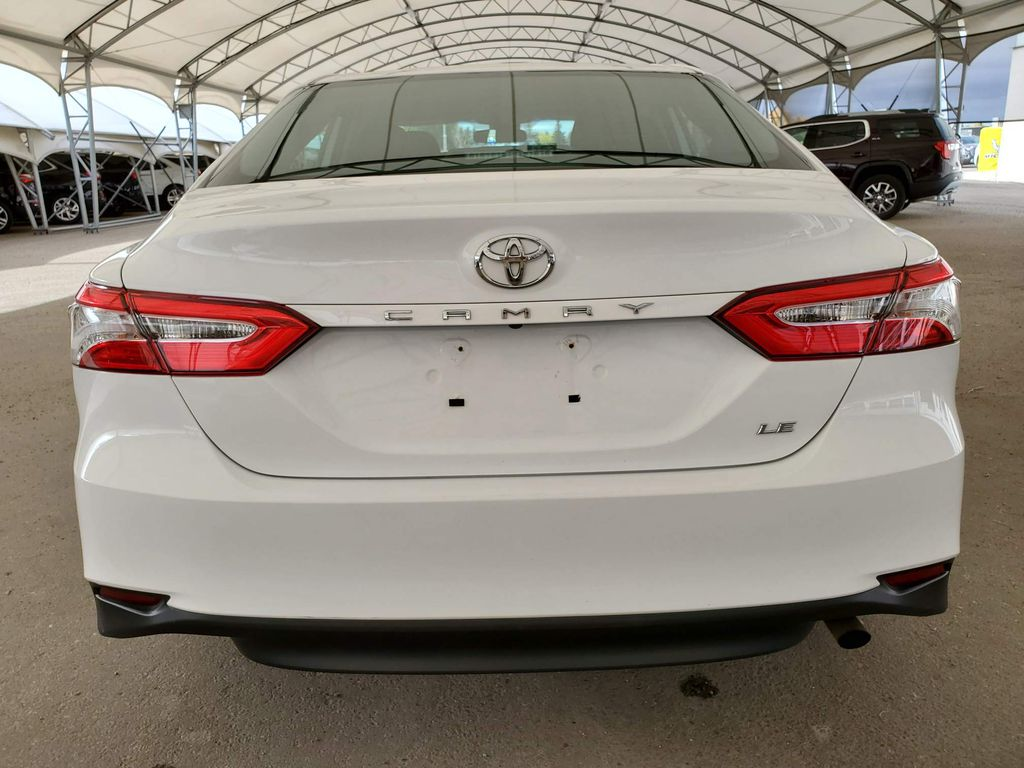 White 2019 Toyota Camry Center Console Photo in Airdrie AB