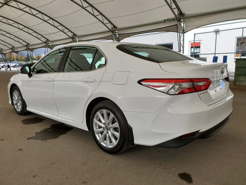 White 2019 Toyota Camry Central Dash Options Photo in Airdrie AB