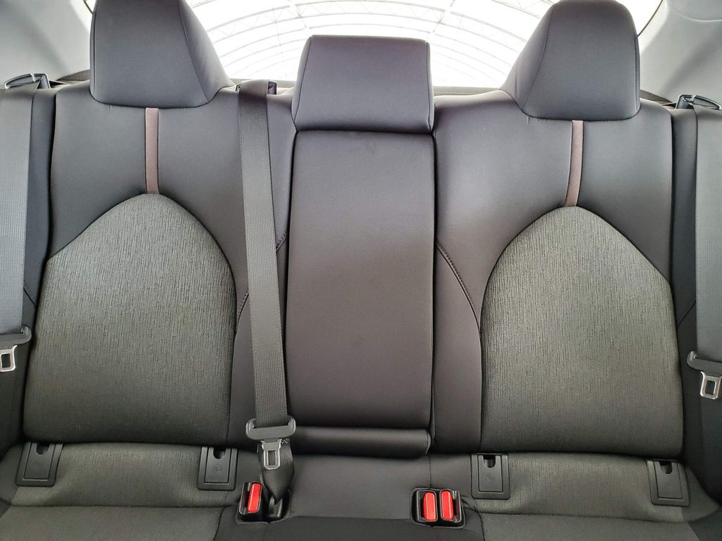 White 2019 Toyota Camry Left Rear Corner Photo in Airdrie AB