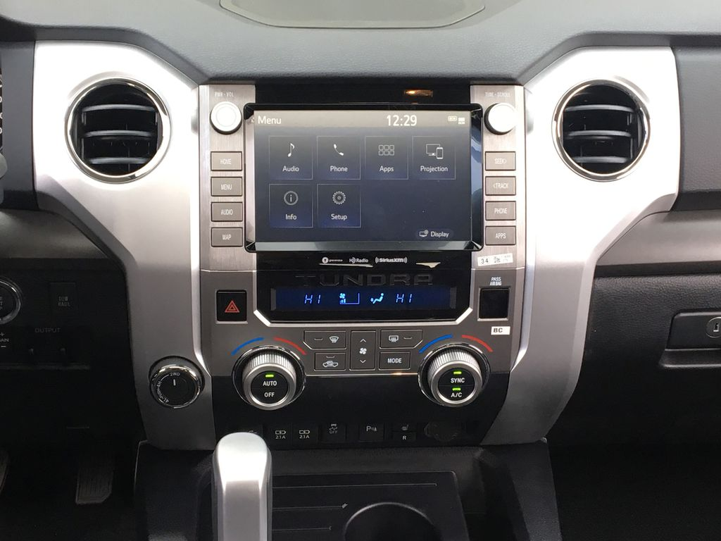 0040 Super White 2021 Toyota Tundra TRD Off Road Central Dash Options Photo in Kelowna BC