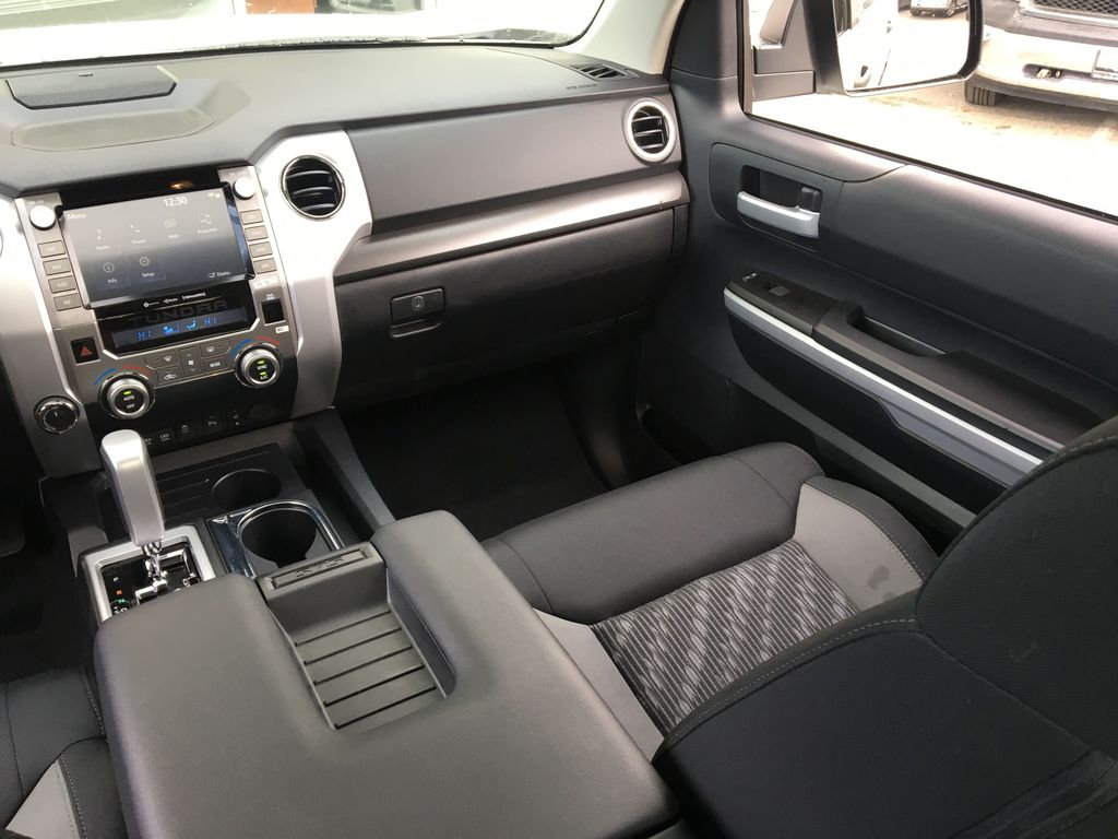0040 Super White 2021 Toyota Tundra TRD Off Road Right Side Front Seat  Photo in Kelowna BC