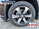 Black[Mosaic Black Metallic] 2020 Chevrolet Traverse LT Left Front Rim and Tire Photo in Nipawin SK
