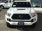 White[Alpine White] 2018 Toyota Tacoma TRD Sport Front Vehicle Photo in Kelowna BC