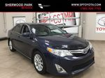 Blue[Parisian Night Pearl] 2014 Toyota Camry Hybrid XLE Primary Listing Photo in Sherwood Park AB