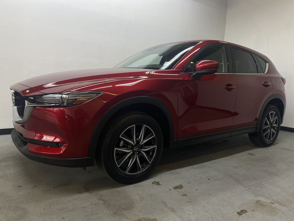 RED 2018 Mazda CX-5 GT AWD - Bluetooth, Backup Cam, NAV Heated Front & Rear Seats Left Front Corner Photo in Edmonton AB
