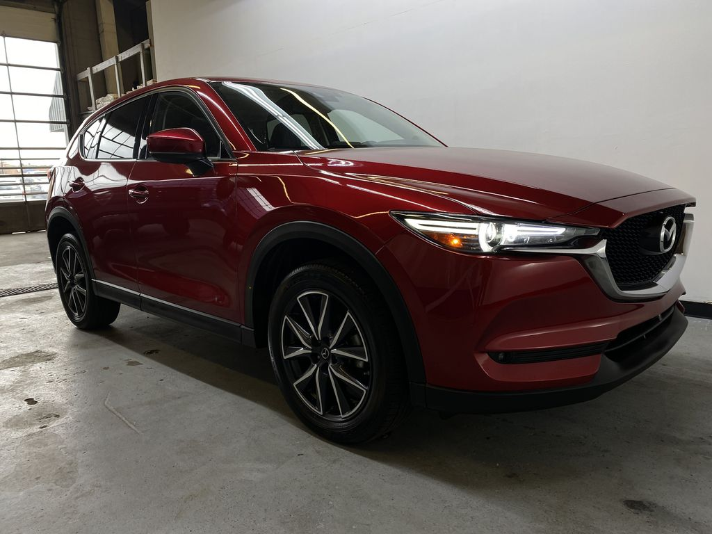 RED 2018 Mazda CX-5 GT AWD - Bluetooth, Backup Cam, NAV Heated Front & Rear Seats Right Front Corner Photo in Edmonton AB