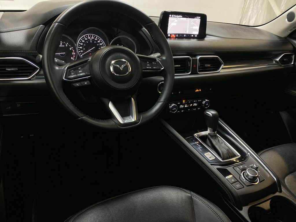 RED 2018 Mazda CX-5 GT AWD - Bluetooth, Backup Cam, NAV Heated Front & Rear Seats Steering Wheel and Dash Photo in Edmonton AB