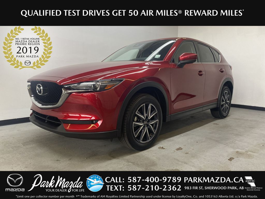 RED 2018 Mazda CX-5 GT AWD - Bluetooth, Backup Cam, NAV Heated Front & Rear Seats