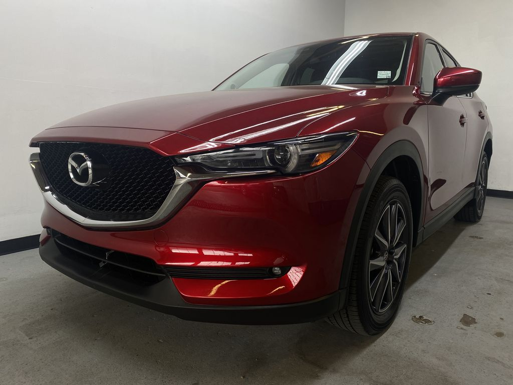 RED 2018 Mazda CX-5 GT AWD - Bluetooth, Backup Cam, NAV Heated Front & Rear Seats Left Front Head Light / Bumper and Grill in Edmonton AB