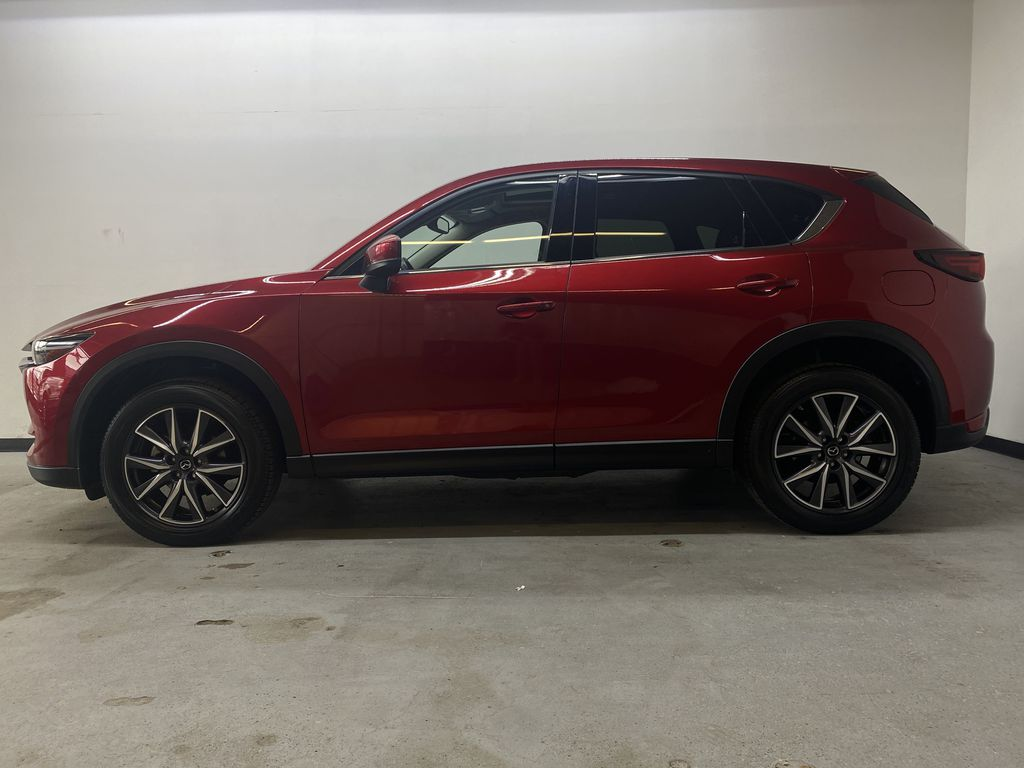 RED 2018 Mazda CX-5 GT AWD - Bluetooth, Backup Cam, NAV Heated Front & Rear Seats Left Side Photo in Edmonton AB