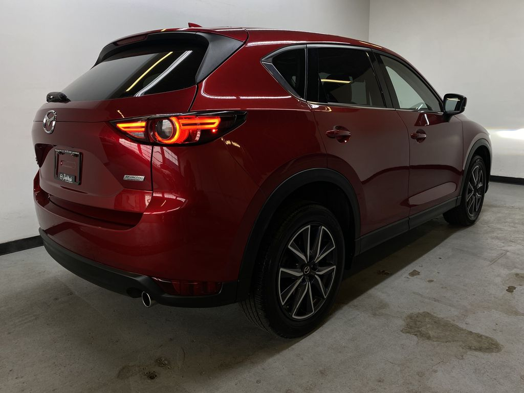 RED 2018 Mazda CX-5 GT AWD - Bluetooth, Backup Cam, NAV Heated Front & Rear Seats Right Rear Corner Photo in Edmonton AB