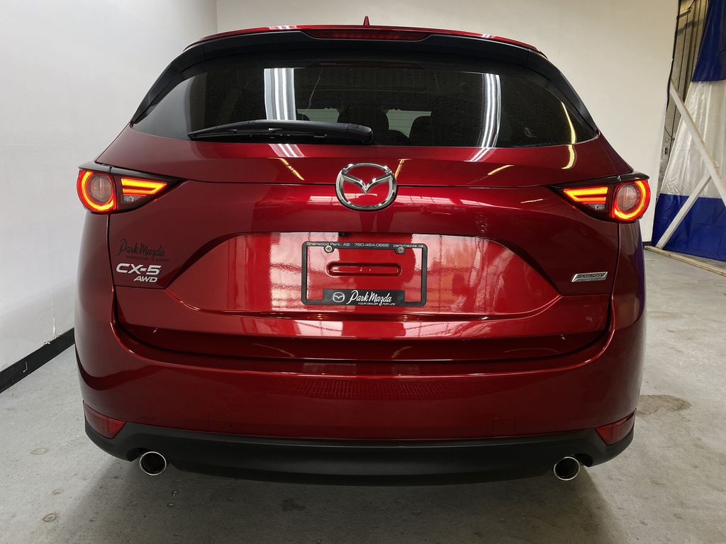RED 2018 Mazda CX-5 GT AWD - Bluetooth, Backup Cam, NAV Heated Front & Rear Seats Rear of Vehicle Photo in Edmonton AB
