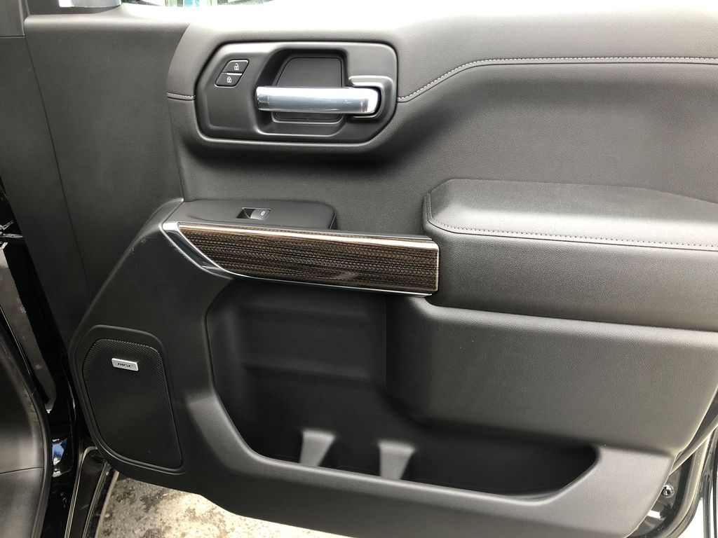 Black[Black] 2020 Chevrolet Silverado 1500 RST Right Front Interior Door Panel Photo in Canmore AB