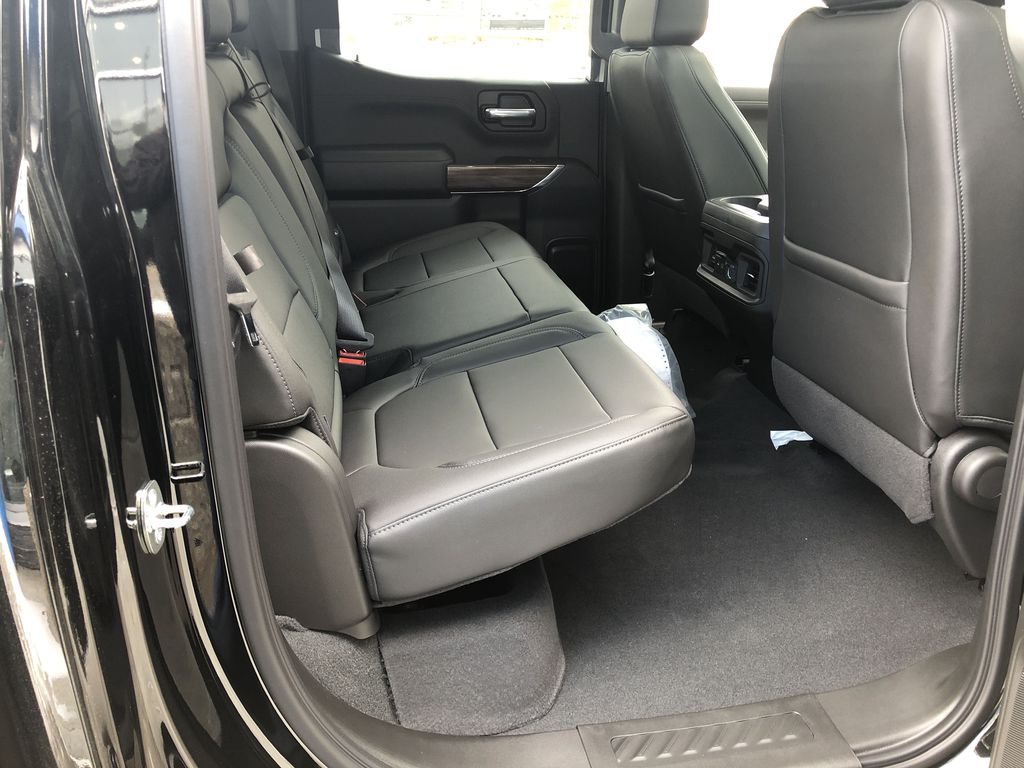 Black[Black] 2020 Chevrolet Silverado 1500 RST Right Side Rear Seat  Photo in Canmore AB
