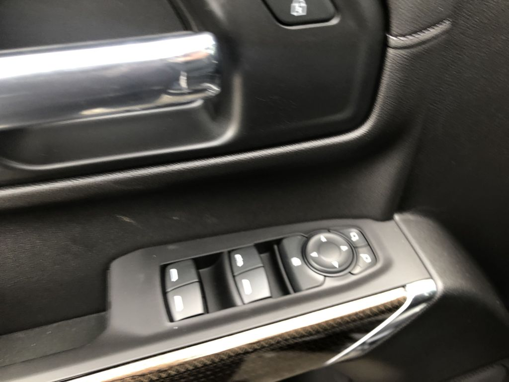 Black[Black] 2020 Chevrolet Silverado 1500 RST  Driver's Side Door Controls Photo in Canmore AB
