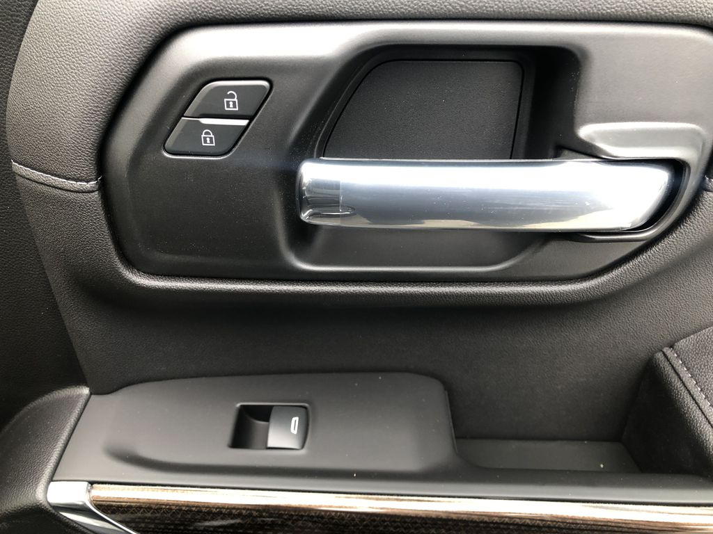 Black[Black] 2020 Chevrolet Silverado 1500 RST Passenger Front Door Controls Photo in Canmore AB