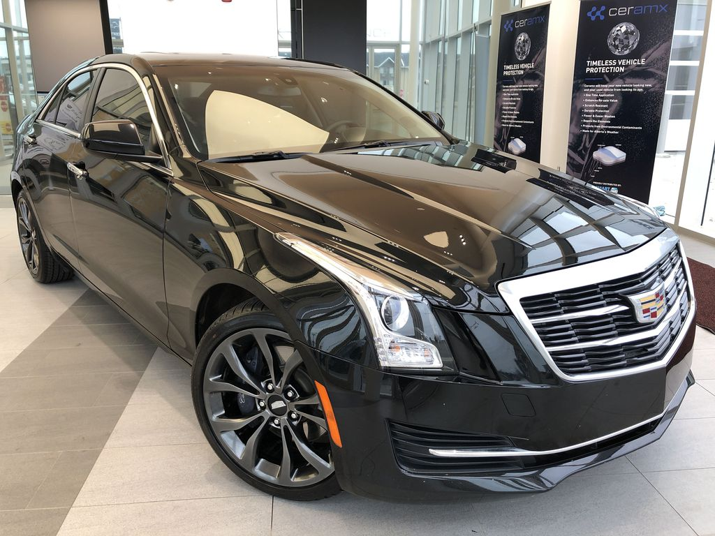 Black[Stellar Black Metallic] 2018 Cadillac ATS Sedan