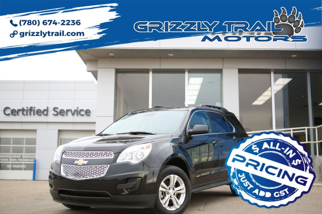 Black 2014 Chevrolet Equinox