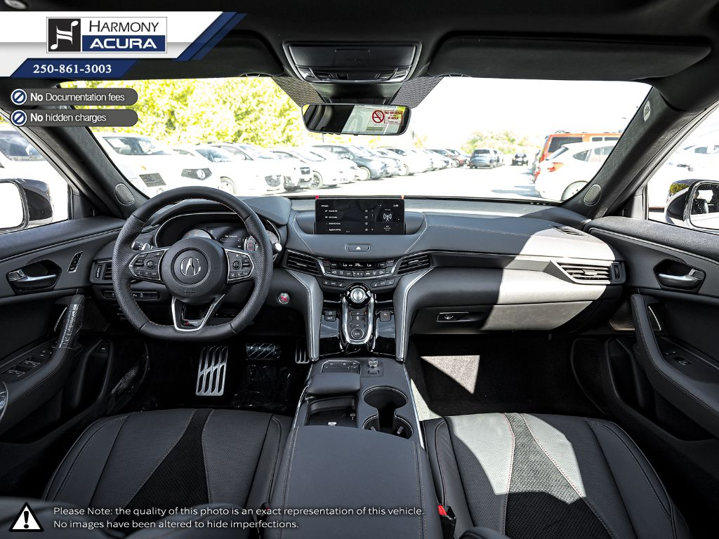 WHITE NH-883P 2021 Acura TLX Right Side Front Seat  Photo in Kelowna BC