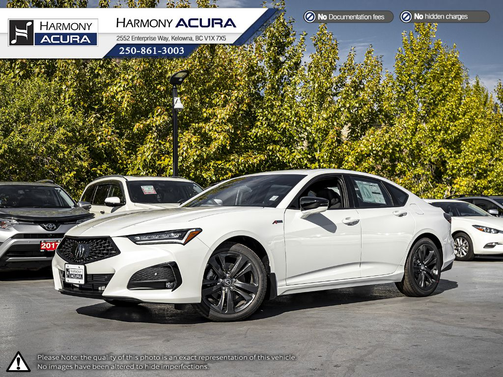 WHITE NH-883P 2021 Acura TLX