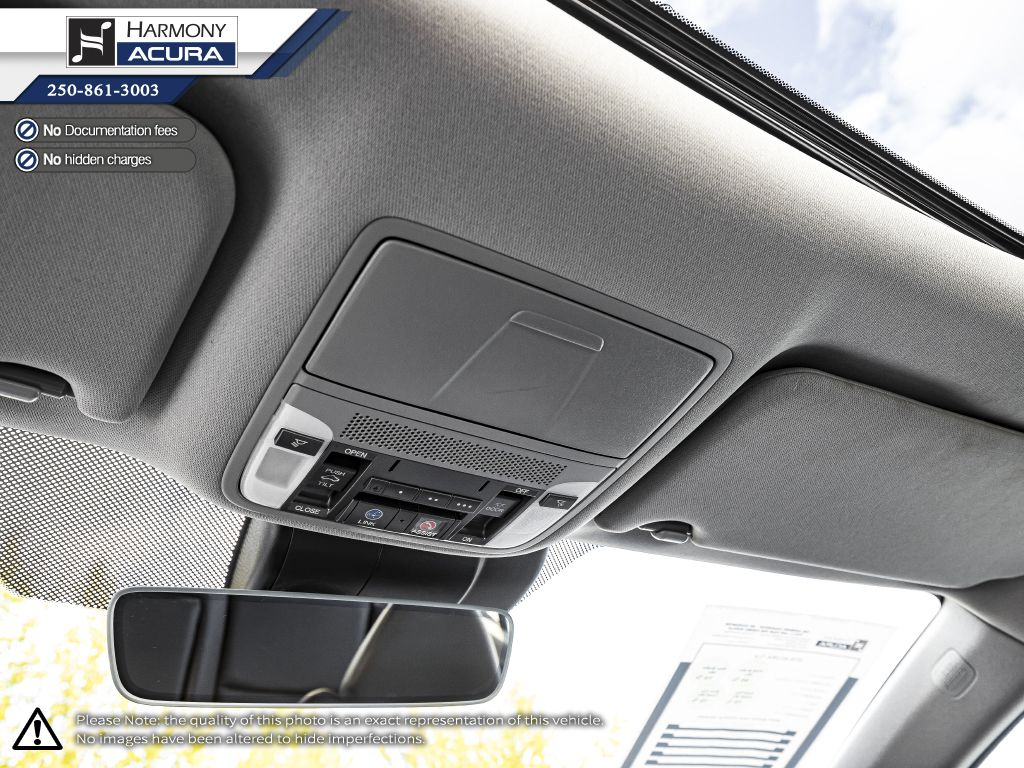 Black 2018 Acura TLX Central Dash Options Photo in Kelowna BC