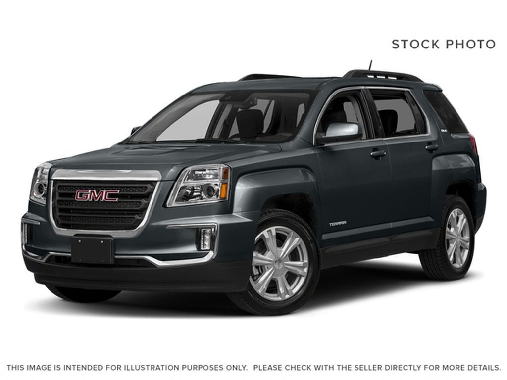 Grey 2017 GMC Terrain