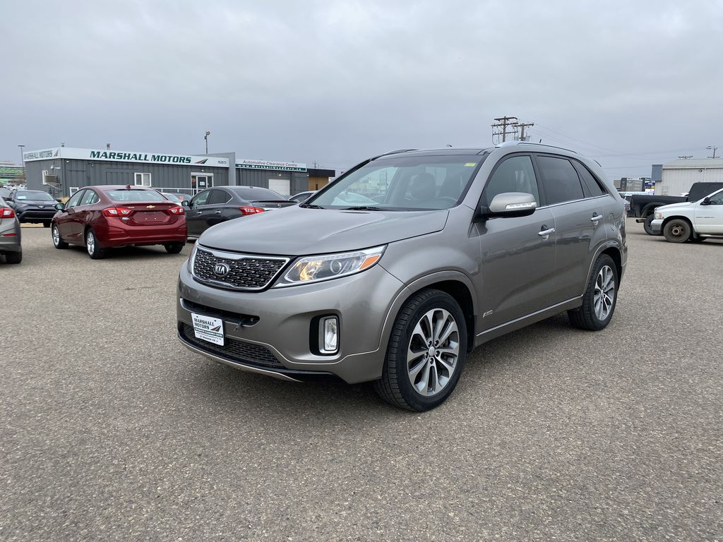 Silver[Bright Silver Metallic] 2014 Kia Sorento AWD 4dr V6 Auto SX *Heated/Cooled Seats* *Sunroof* *NAV*