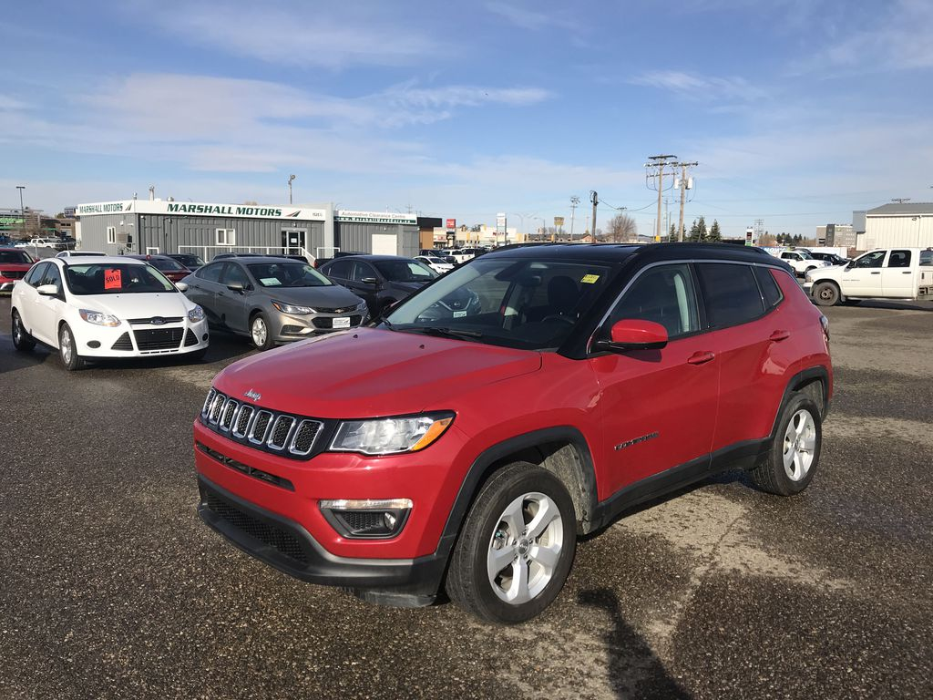 "Red[Redline Pearl] 2018 Jeep Compass North 4x4 *Heated Seats/Wheel* *NAV* *8.4"" Touchscreen*"