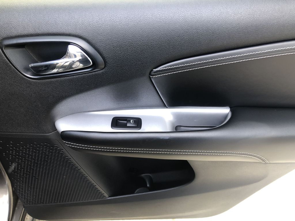 Gray[Granite Crystal Metallic] 2015 Dodge Journey R/T Right Rear Interior Door Panel Photo in Canmore AB