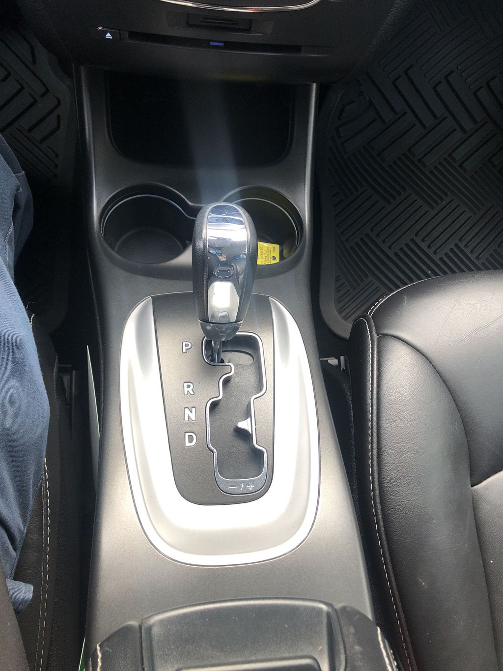 Gray[Granite Crystal Metallic] 2015 Dodge Journey R/T Center Console Photo in Canmore AB