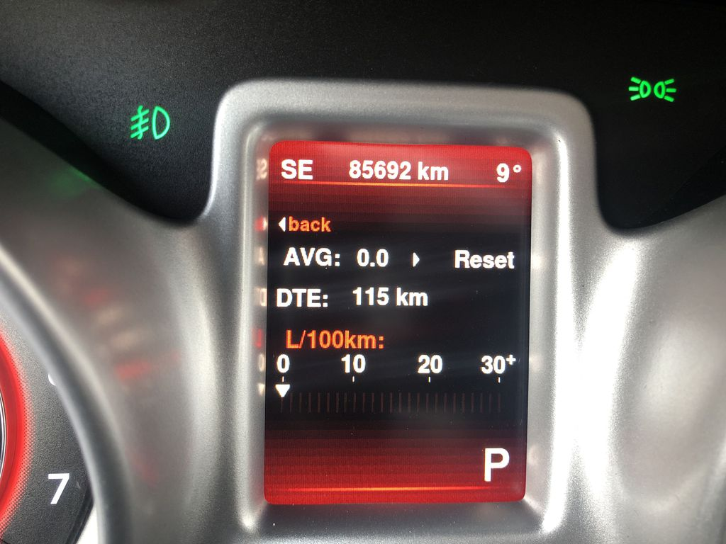 Gray[Granite Crystal Metallic] 2015 Dodge Journey R/T Odometer Photo in Canmore AB
