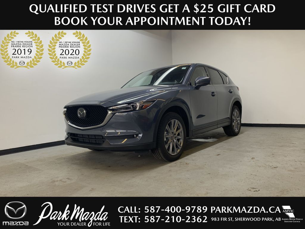POLYMETAL GREY METALLIC(47C) 2021 Mazda CX-5 GT Turbo