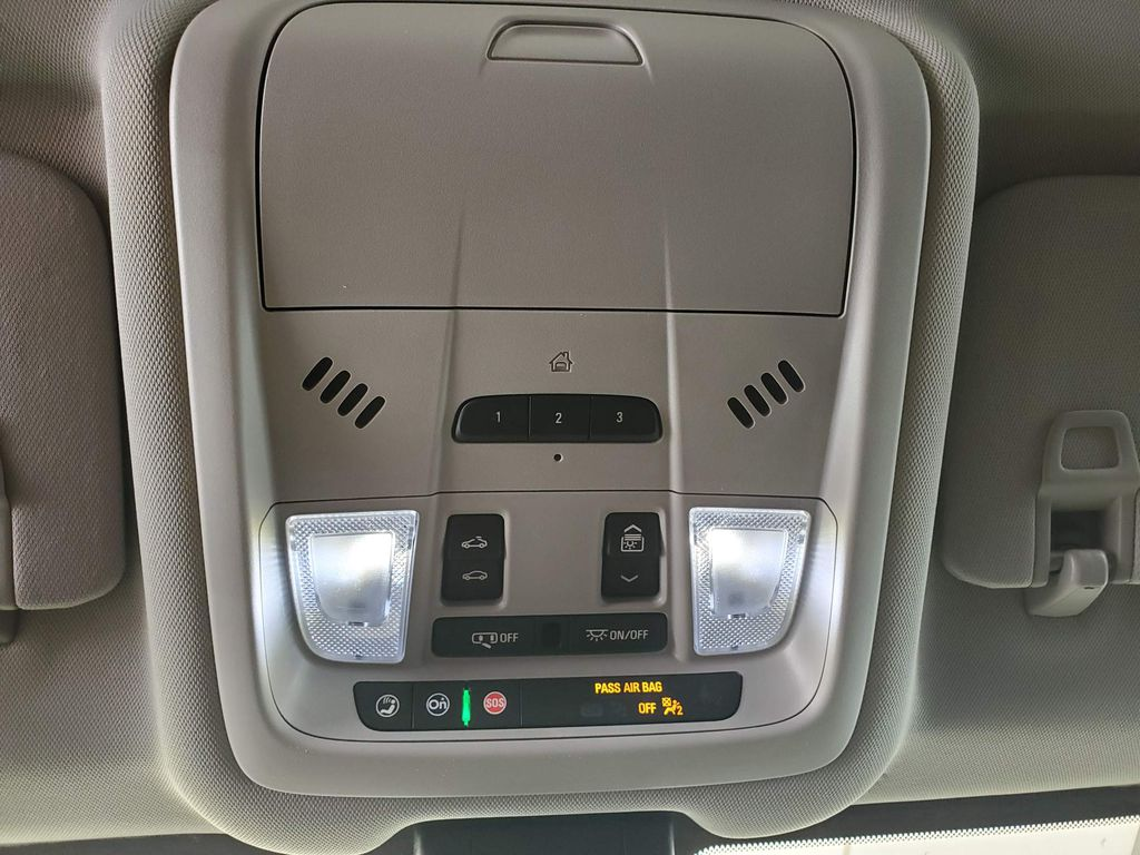 White 2020 GMC Terrain Steering Wheel and Dash Photo in Airdrie AB