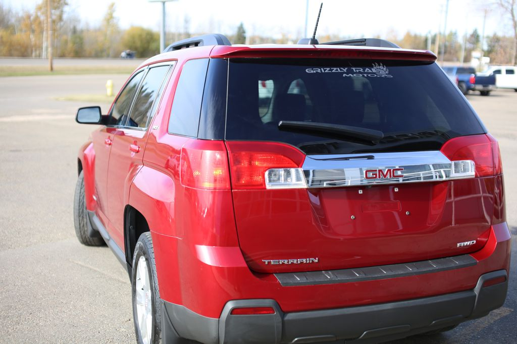 Dark Red 2015 GMC Terrain Left Front Rim and Tire Photo in Barrhead AB
