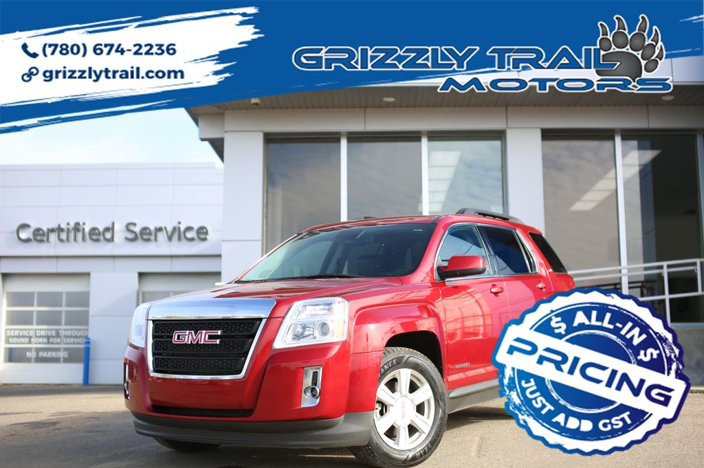Dark Red 2015 GMC Terrain