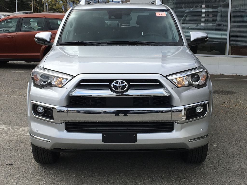 Silver[Classic Silver Metallic] 2021 Toyota 4Runner Limited Front Vehicle Photo in Kelowna BC
