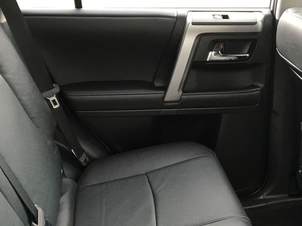 Silver[Classic Silver Metallic] 2021 Toyota 4Runner Limited Left Rear Interior Door Panel Photo in Kelowna BC