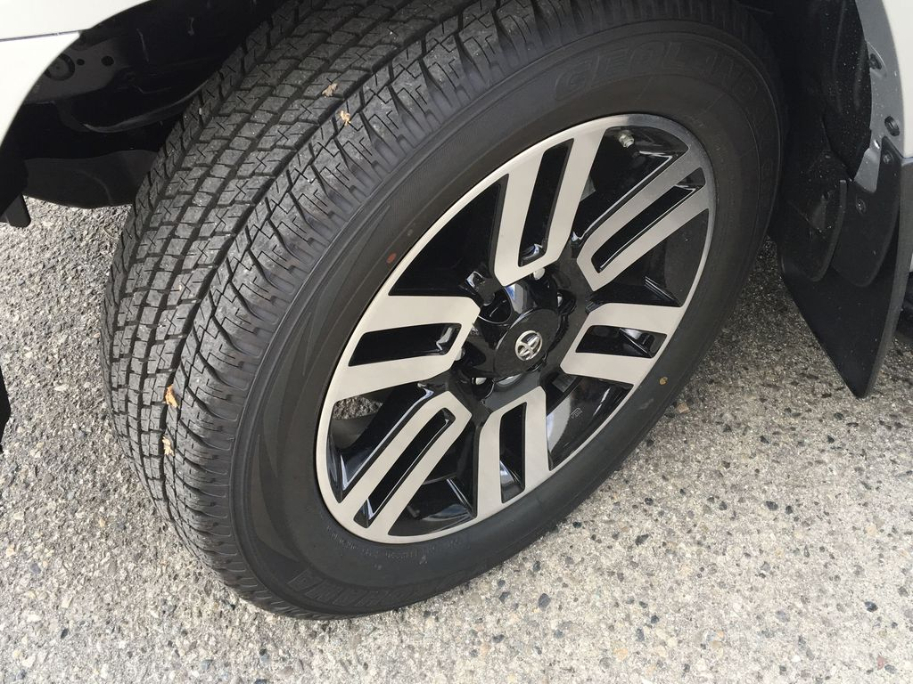 Silver[Classic Silver Metallic] 2021 Toyota 4Runner Limited Left Front Rim and Tire Photo in Kelowna BC