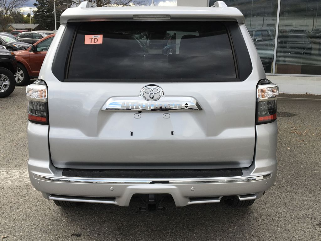 Silver[Classic Silver Metallic] 2021 Toyota 4Runner Limited Rear of Vehicle Photo in Kelowna BC