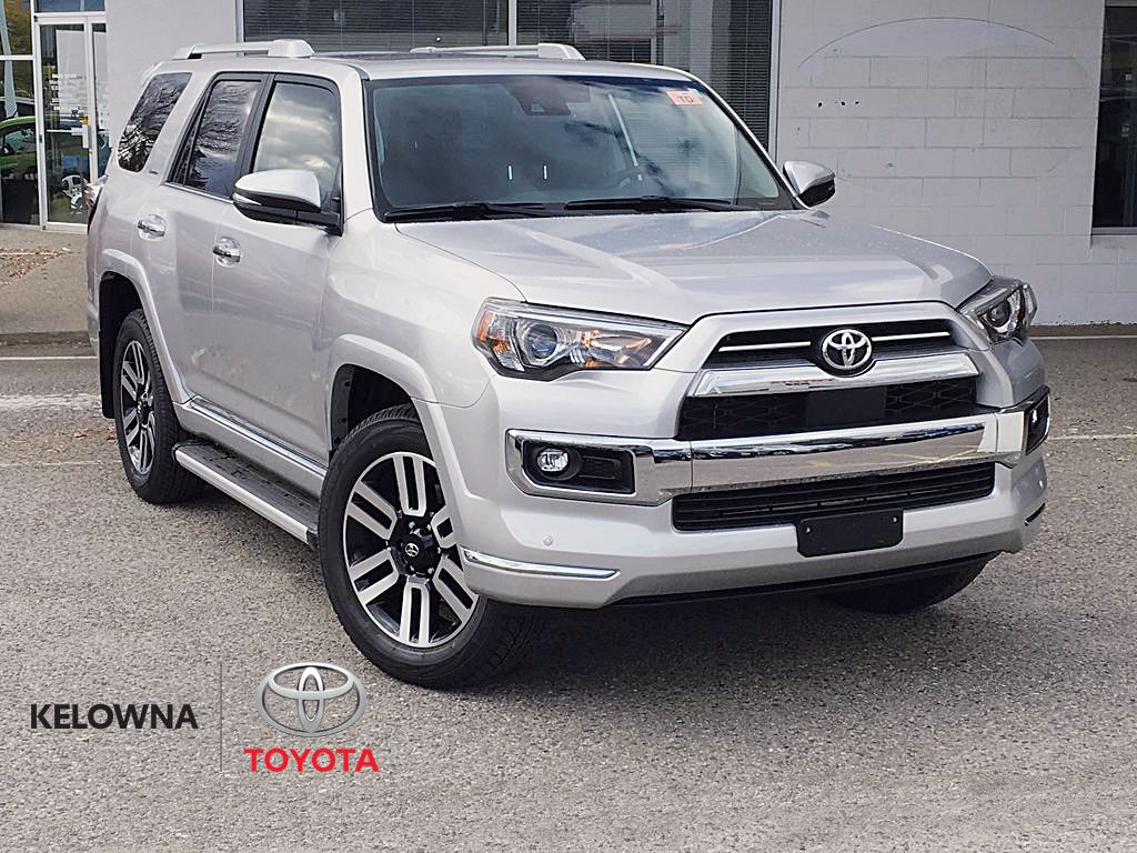 Silver[Classic Silver Metallic] 2021 Toyota 4Runner Limited