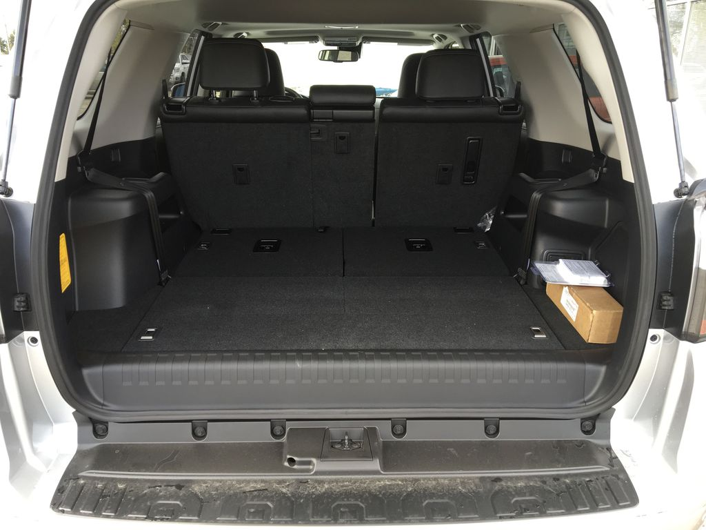 Silver[Classic Silver Metallic] 2021 Toyota 4Runner Limited Trunk / Cargo Area Photo in Kelowna BC