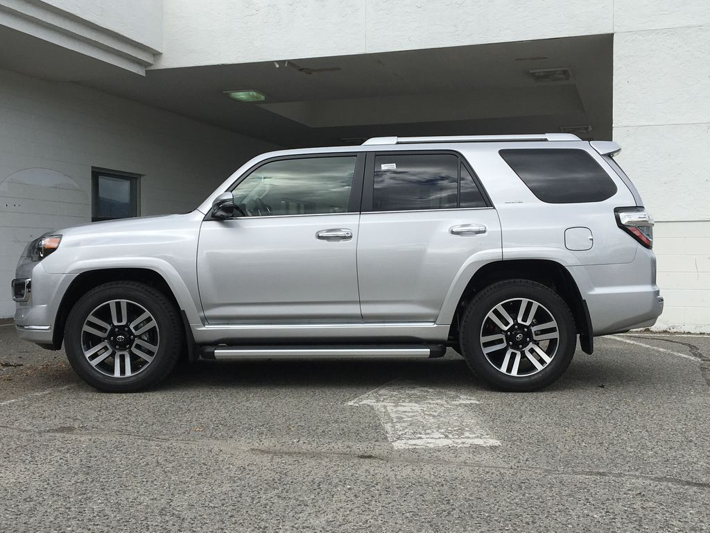 Silver[Classic Silver Metallic] 2021 Toyota 4Runner Limited Left Side Photo in Kelowna BC