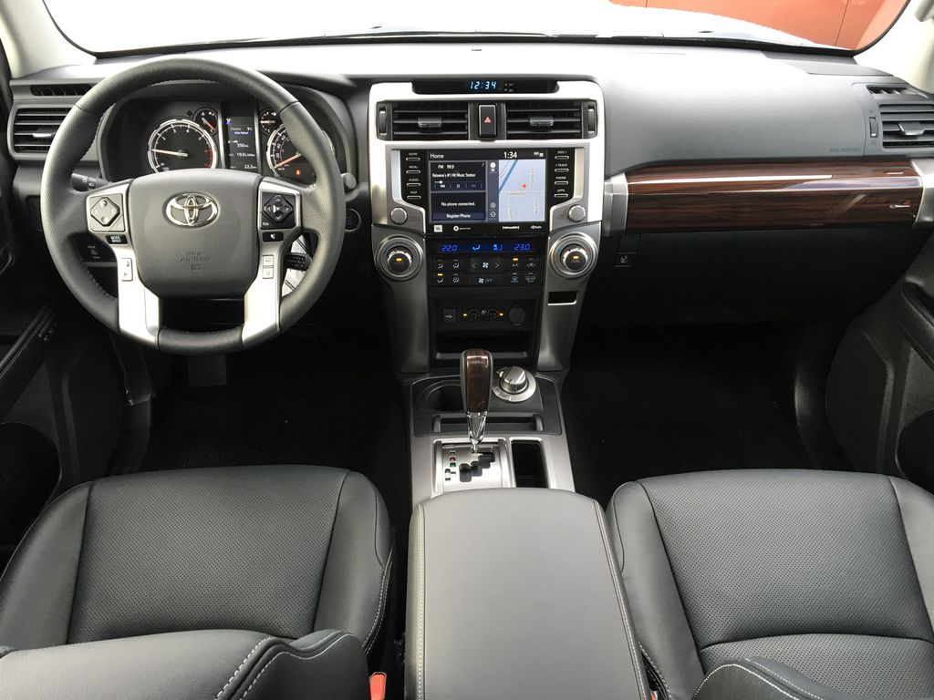 Silver[Classic Silver Metallic] 2021 Toyota 4Runner Limited Main Interior Photo in Kelowna BC