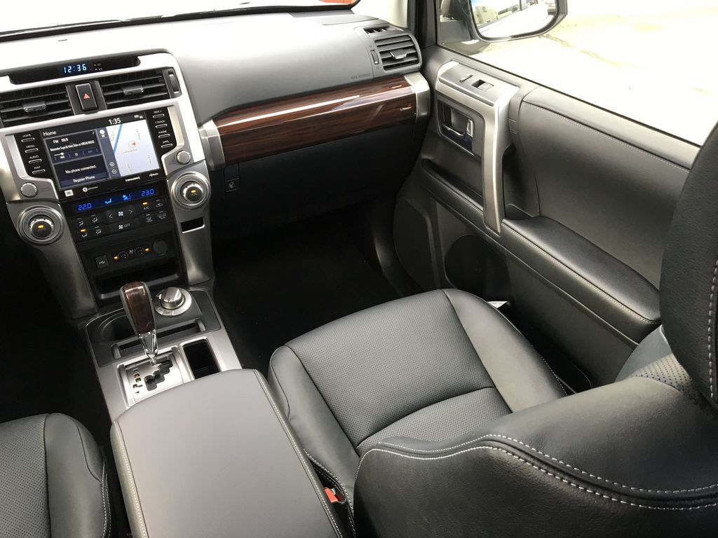 Silver[Classic Silver Metallic] 2021 Toyota 4Runner Limited Right Side Front Seat  Photo in Kelowna BC